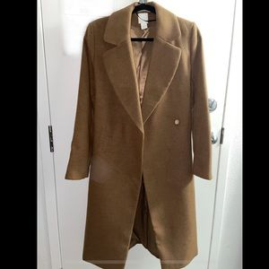 Brown long coat